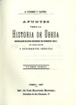 Presione para entrar a Apuntes para la historia de Úbeda, de Alfredo Cazabán