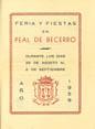 Presione para entrar a Programa de Feria de Peal de Becerro 1959