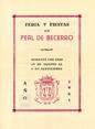 Presione para entrar a Programa de Feria de Peal de Becerro 1961