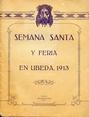 Presione para entrar a Semana  Santa y Feria en Úbeda, 1913